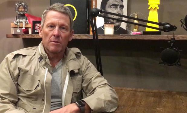 Hoe Lance Armstrong een podcastfenomeen werd