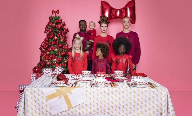 Viktor & Rolf créent une collection Noël pour HEMA