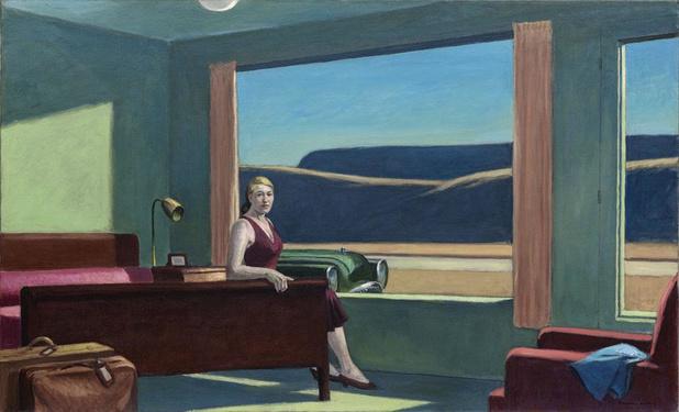Een nacht met Hopper