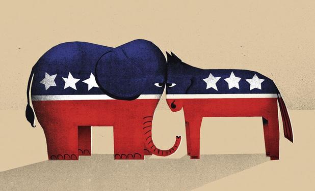 De presidentsverkiezingen in de VS worden geen mooi schouwspel