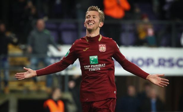 Anderlecht wint van Genk en kruipt dichter bij play-off 1