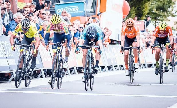 Pieter Vanspeybrouck opnieuw op podium in Ronde van Oostenrijk