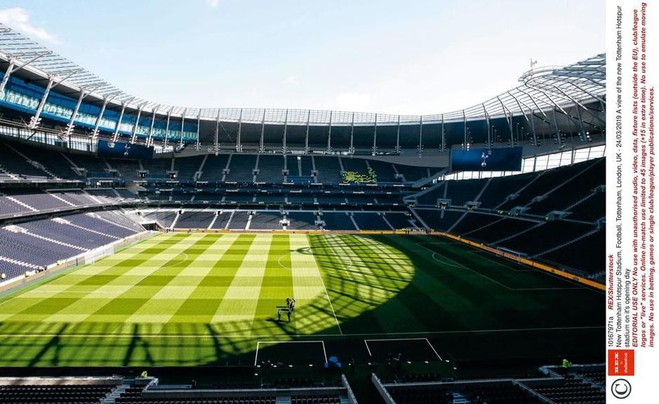 Prestigieuze Tottenham Hotspur Stadium wordt officieel geopend