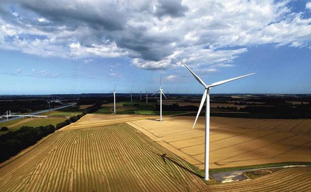 Inauguration du chantier du parc éolien le plus puissant de Flandre