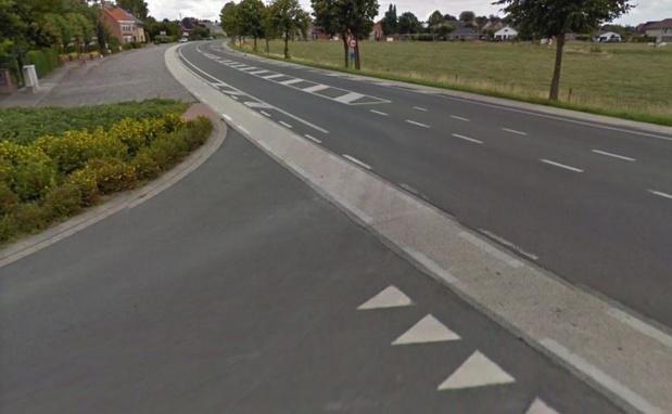 N-VA wil stopbord op kruispunt van Holdestraat met Meulebeeksesteenweg na ongeval
