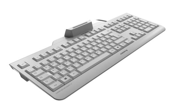 Cherry toetsenbord heeft ingebouwde smartcard-reader