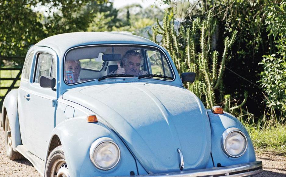 Uruguayaanse vice-presidente Topolansky: 'Ik wilde niet dat mijn man nog eens president zou worden'