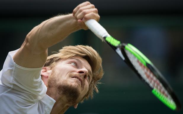 """Goffin sera 18e à l'ATP après Wimbledon: """"Un tournoi très positif"""""""