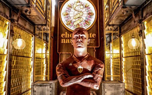 Eden Hazard, homme chocolat