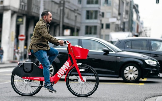 Uber retire ses vélos Jump de plusieurs communes bruxelloises