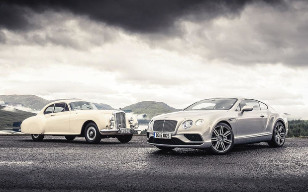 Bentley : saga anglaise, production allemande