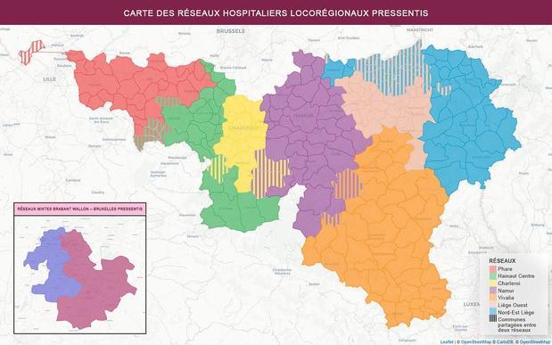 7 réseaux hospitaliers wallons dans les starting blocks