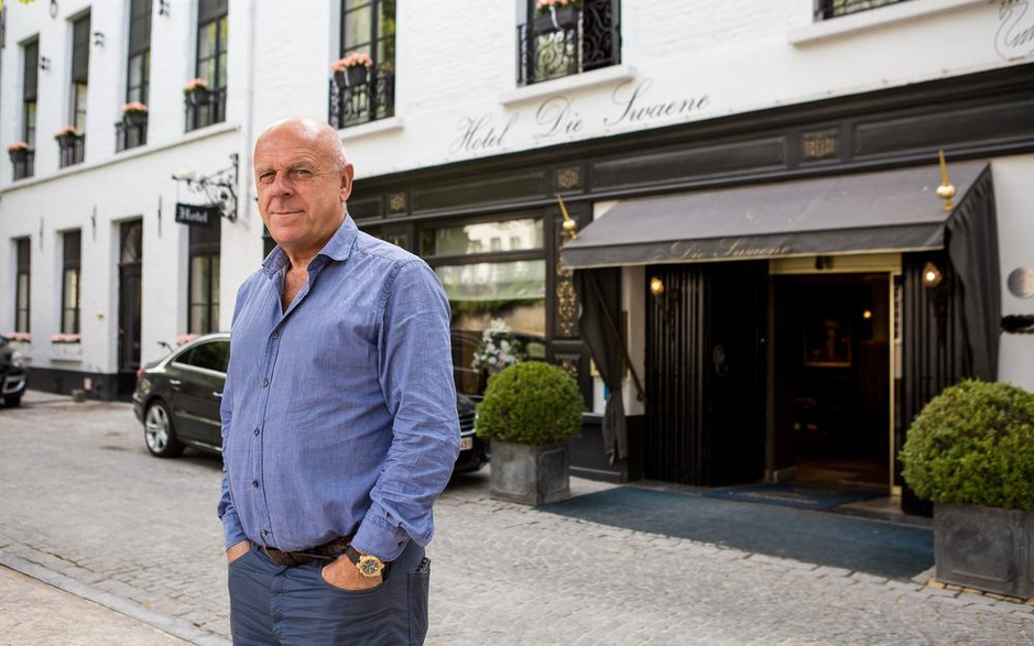 Ondernemer Dirk Van den Bossche koopt in één klap twee bekende Brugse hotels