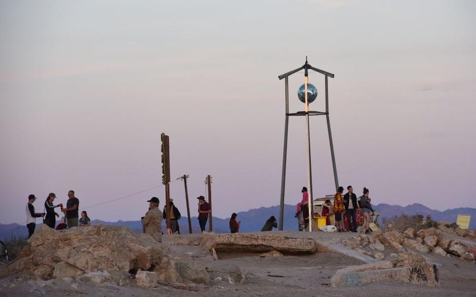 Alternatief kunstfestival brengt verlaten Californisch stadje weer tot leven