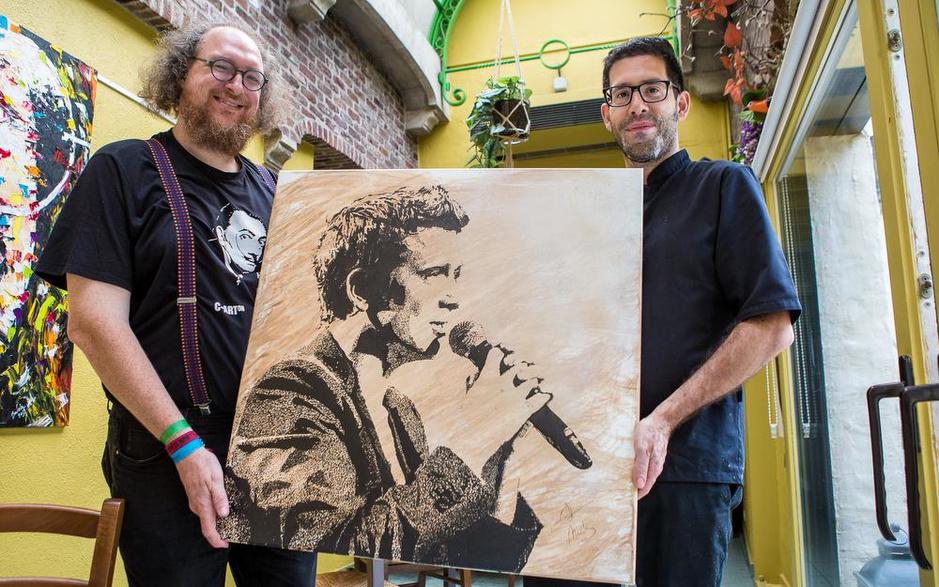 Brecht Carton vereeuwigt zes bekende muzikanten voor de Warmste Week