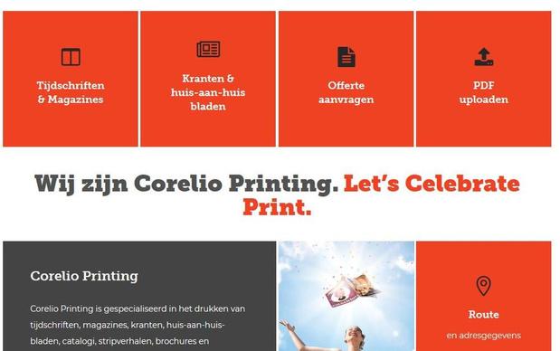 Moderna ziet af van overname Corelio Printing