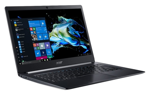Dunne en lichte zakelijke laptop