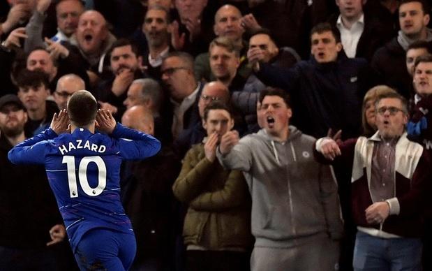 La merveille d'Eden Hazard, inarrêtable face à West Ham (vidéos)