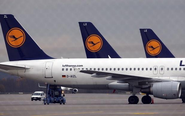 11.000 banen op de tocht bij Lufthansa in Duitsland