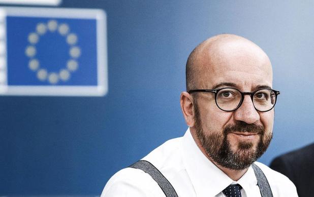 EU-top: Charles Michel nestelt zich in de biechtstoel