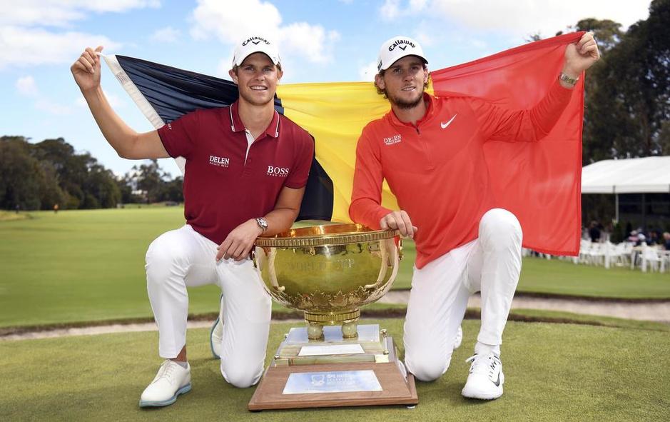 Wereldkampioen golf Thomas Detry blikvanger op BKO: 'Ik word elk jaar beter'