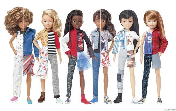 Mattel lance une poupée sans genre