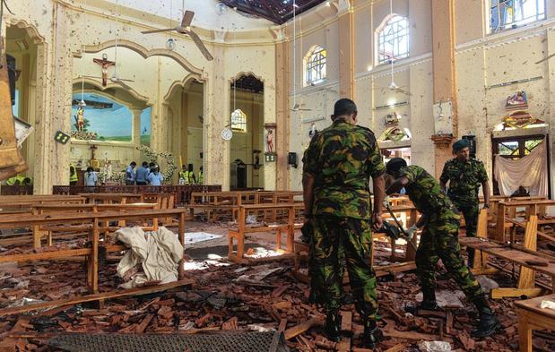 Au Sri Lanka, l'attentat le plus meurtrier