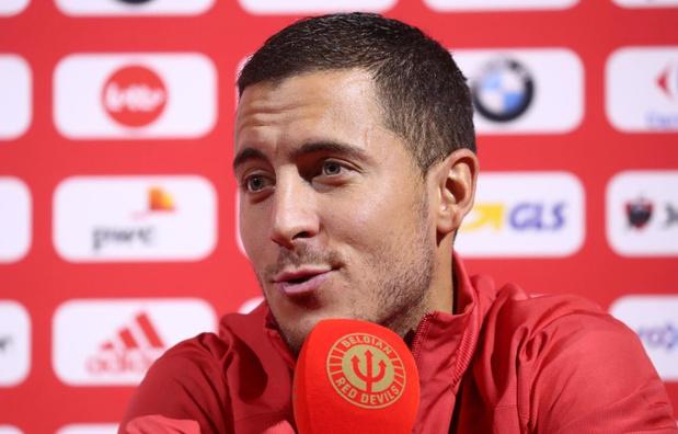 Eden Hazard: 'Mijn techniek is nog niet zo slecht, denk ik'
