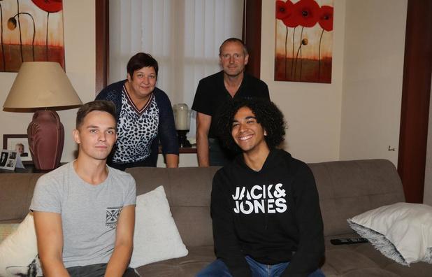 Dominicaanse student Gianfranco te gast bij Kemmels gezin