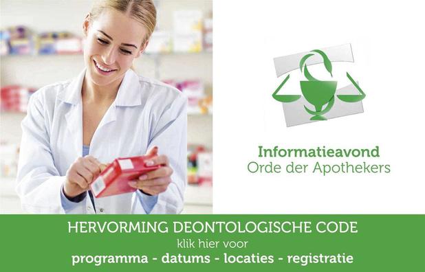 Orde der Apothekers vernieuwt deontologische code