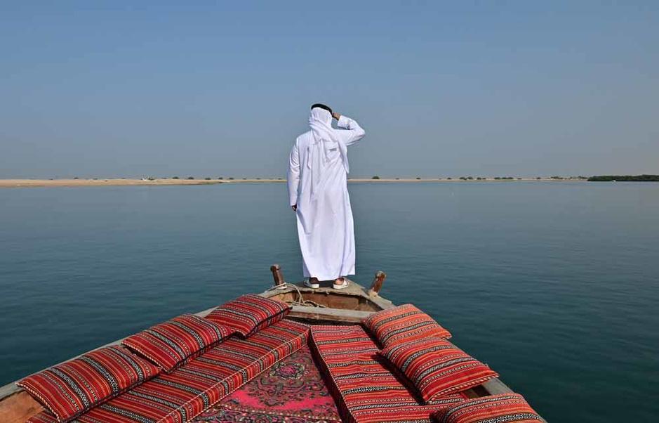 L'ancienne passion des perles au large des Emirats