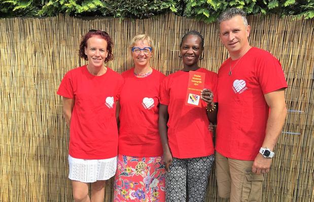 Adine De Volder bouwt met Gambiahelpers opvangtehuis voor kinderen