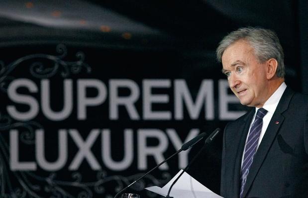 81% des actions du groupe de Bernard Arnault sont hébergées en Belgique