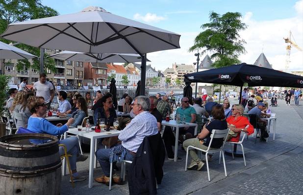 Kortrijk schaft terrasbelasting af