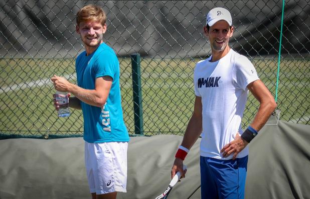 "Djokovic, le prochain adversaire de Goffin: ""David a un jeu de jambes phénoménal"""