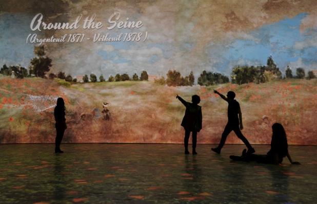 Virtual reality brengt Claude Monet tot leven in de Brusselse Hortagalerij
