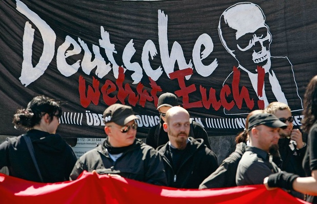 'Duitsland telt nu 30.000 rechts-extremisten, een forse toename'