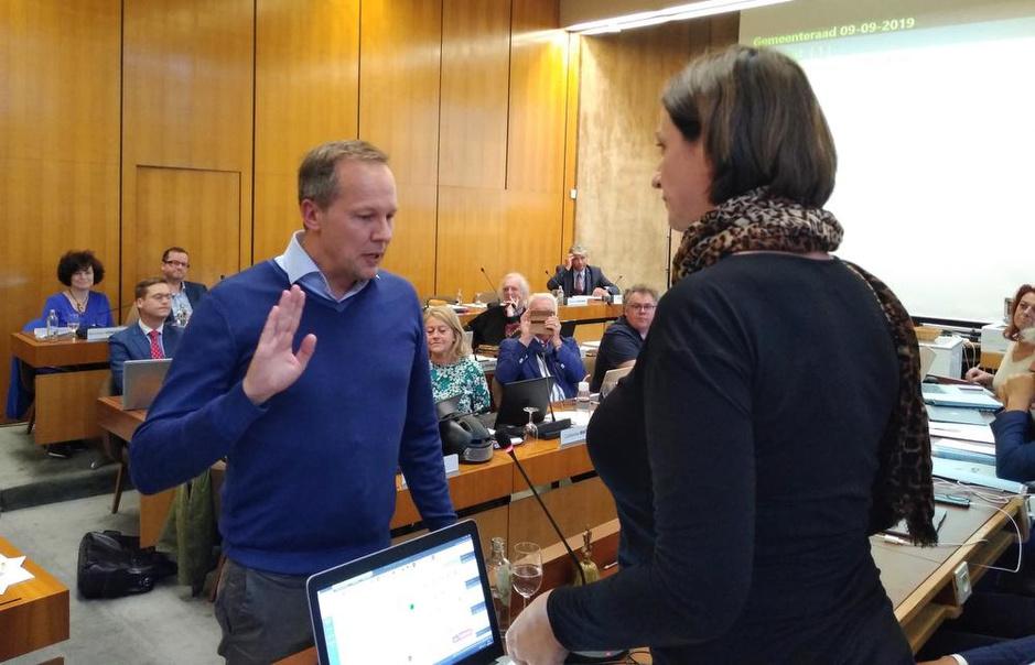 Nieuwe Kortrijkse gemeenteraadsleden leggen eed af