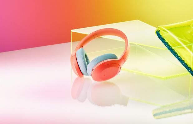 Sony hoofdtelefoon heeft dubbele ruis-sensor