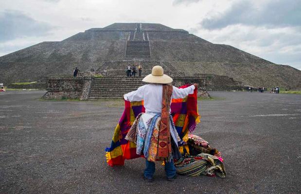 """Mexique : la """"Cité des Dieux"""" renaît à la vie (en images)"""
