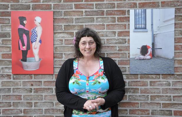 """Sylvia Konior uit Ruiselede sloopt taboes met haar kunst: """"Weg met de nieuwe preutsheid"""""""