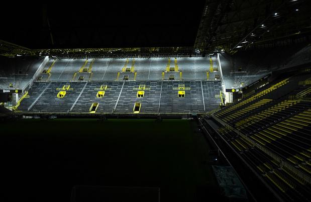 Dortmund transforme son stade en centre de traitement du Covid-19