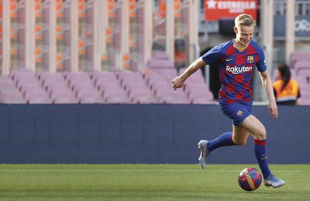 Frenkie de Jong doit devenir le moteur du Barça
