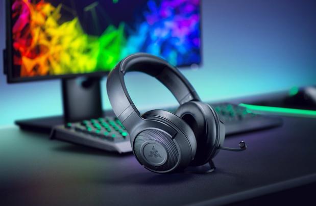 Instapmodel gaming headset met 7.1 surround sound