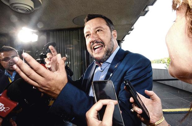 Salvini dreigt met nieuwe verkiezingen