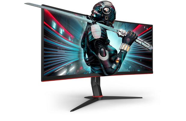 34-inch gebogen gaming monitoren