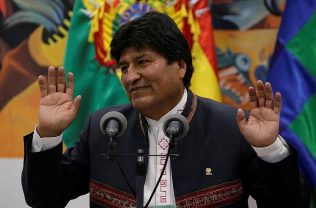 Kiestribunaal roept Evo Morales opnieuw uit tot president van Bolivia