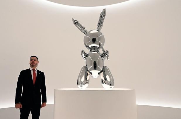 Voici les oeuvres d'artistes vivants les plus chères