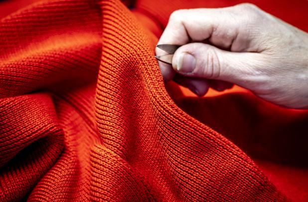 """Le """"slow fashion"""" et sa laine recyclée partent à la conquête des podiums"""