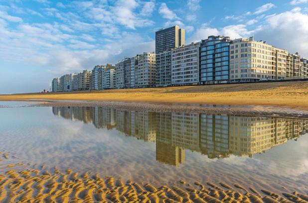 De gemiddelde prijs van een appartement aan de kust stijgt